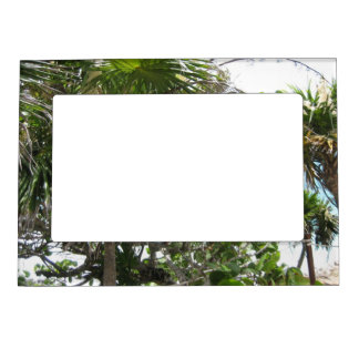 Tropical Leaves Magnet Picture Frame Magnetic Frames