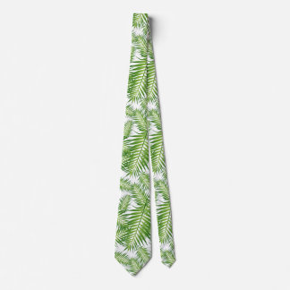 Tropical Leaves Neck Tie