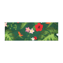 Tropical Leaves Pattern Canvas Print