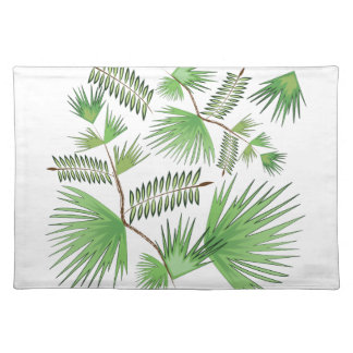 Tropical Leaves Placemat