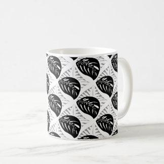 Tropical Leaves Tessellations Mug