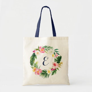 Tropical Leaves Tote Bag. Personalized Tote Bag