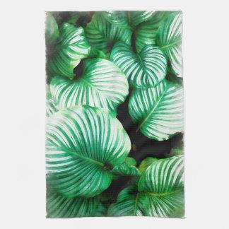Tropical Leaves Towel