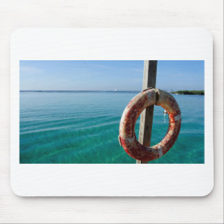 tropical lifesaver mouse pad