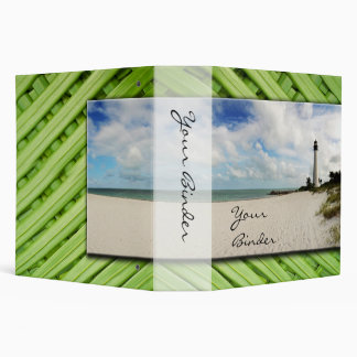"Tropical Lighthouse ""2 Binder"