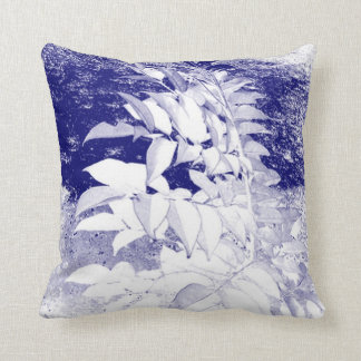 Tropical Lilac Throw Pillow