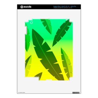 tropical lime decal for iPad 3