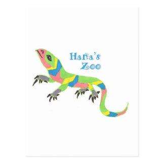 Tropical Lizard Postcard