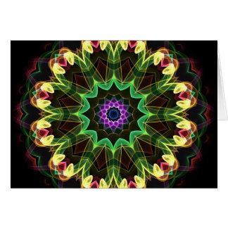Tropical Lotus Card