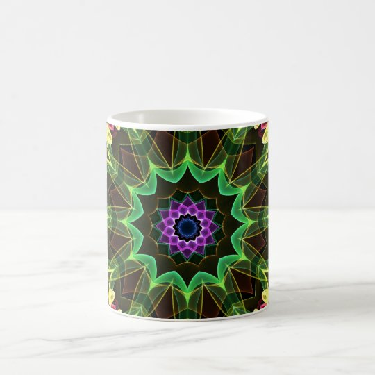 Tropical Lotus Coffee Mug