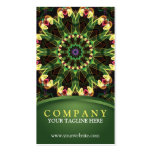 Tropical Lotus Mandala Double-Sided Standard Business Cards (Pack Of 100)