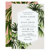 Tropical Love Invitation