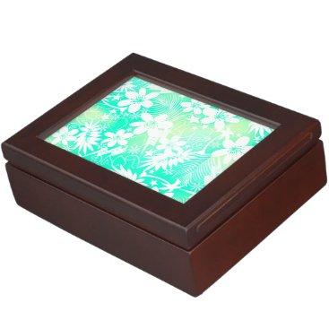 Beach Themed Tropical love memory box