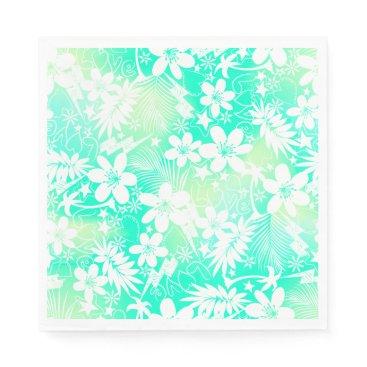 Beach Themed Tropical love napkin