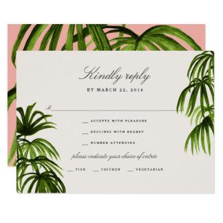 Tropical Love / RSVP Card