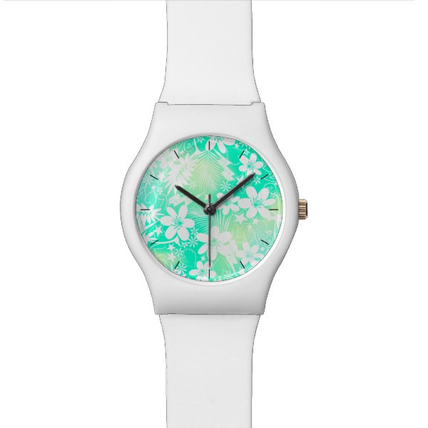 Tropical love wrist watch