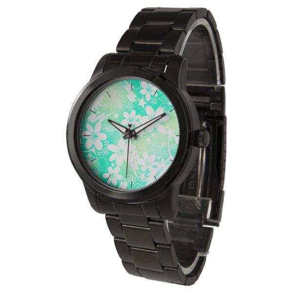 Tropical love wrist watch