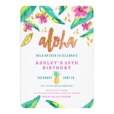 blush_printables tropical luau birthday invitation