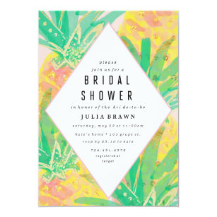 Luau bridal shower invitations zazzle tropical luau bridal shower invitation filmwisefo