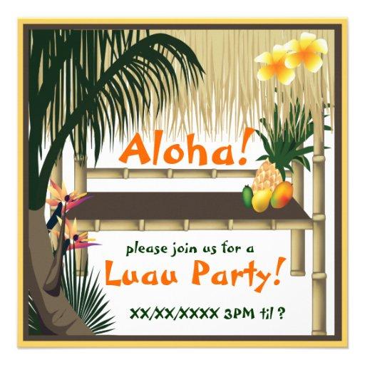 Personalized Luau Invitations was nice invitations example