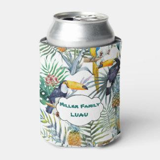 Tropical Luau, Tucan, Pinapple Can Cooler