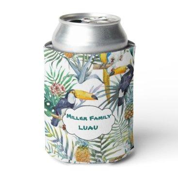 longdistgramma Tropical Luau, Tucan, Pinapple Can Cooler