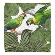Tropical MacawParrot Bird Wildlife Animal Bandana