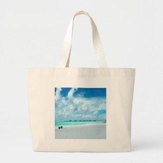 Tropical Maldives Beach Harbour Bag