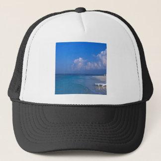 Tropical Maldives Gentle Tides Trucker Hat