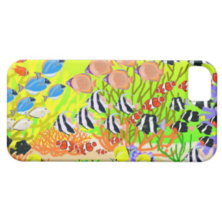 Tropical Marine Fish Iphone case