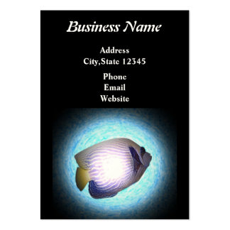 Tropical Marine Large Business Card
