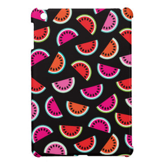 Tropical melon fruit retro summer pattern cover for the iPad mini