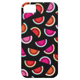 Tropical melon fruit retro summer pattern iPhone SE/5/5s case