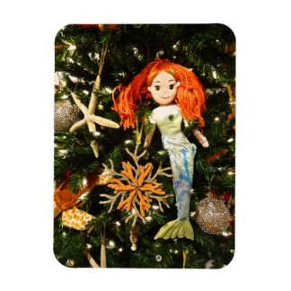 Tropical Mermaid Under the Sea Christmas Holiday Magnet