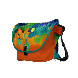 Tropical . messenger bag