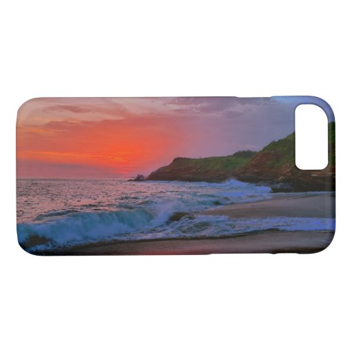 Tropical Mexico Sandy Beach Sunset Paradise iPhone 8/7 Case