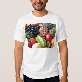 Tropical mix fruits t-shirt
