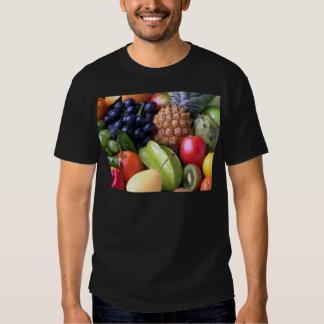 Tropical mix fruits tee shirt