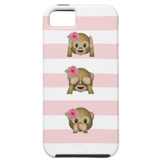 Tropical Monkey Emoji iPhone SE/5/5s Case
