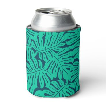 adamfahey Tropical monstera leaf can cooler