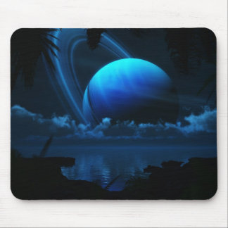 Tropical Moon Mousepad