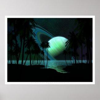 Tropical Moon of Thetis print