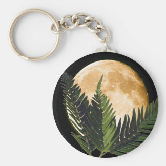 Tropical Moonlight Keychains