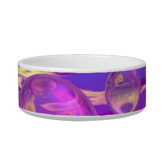 Tropical Morning – Magenta and Turquoise Paradise Bowl