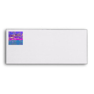 Tropical Morning – Magenta and Turquoise Paradise Envelope