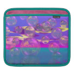 Tropical Morning – Magenta and Turquoise Paradise iPad Sleeves