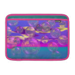 Tropical Morning – Magenta and Turquoise Paradise Sleeves For MacBook Air