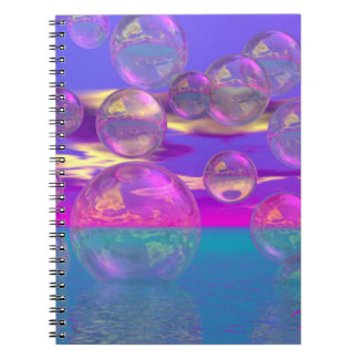 Tropical Morning – Magenta and Turquoise Paradise Note Books