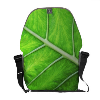 Tropical Nature Green Leaf Photo Photography Bag