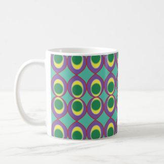 Tropical Neon fish eye Coffee Mug